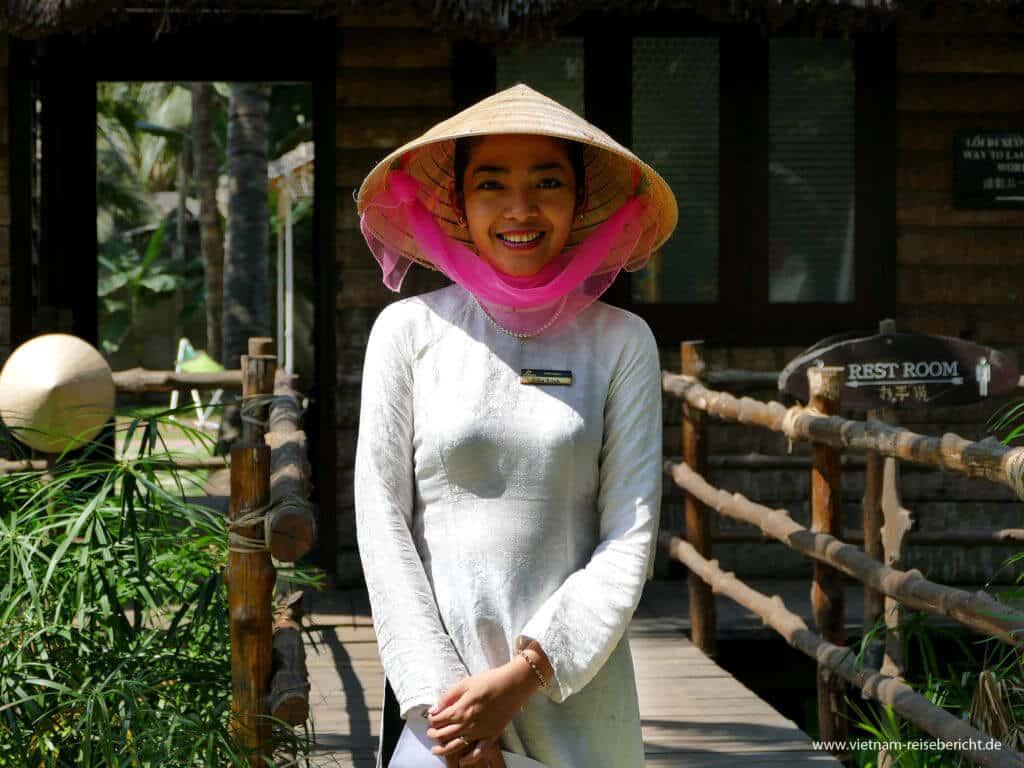 Frau aus dem Mekong Delta Vietnam Reisebericht