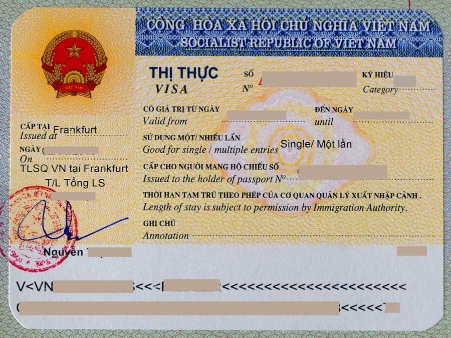 Vietnam Visa
