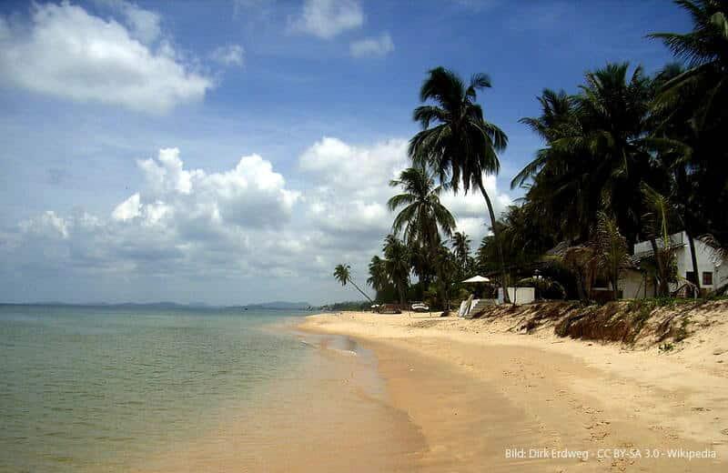Duong Dong Strand Vietnam