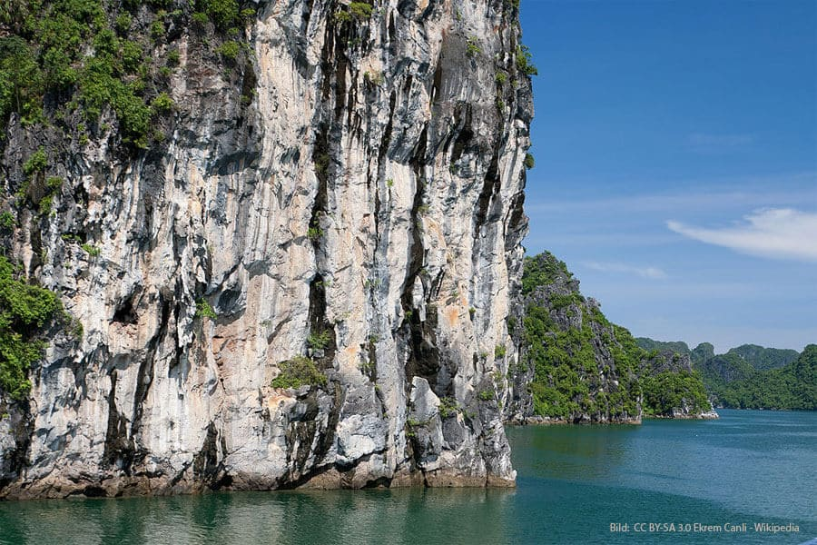 Felsen in der Ha Long Bucht Vietnam